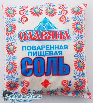 Поваренная соль, подходящая для лечения рыб.