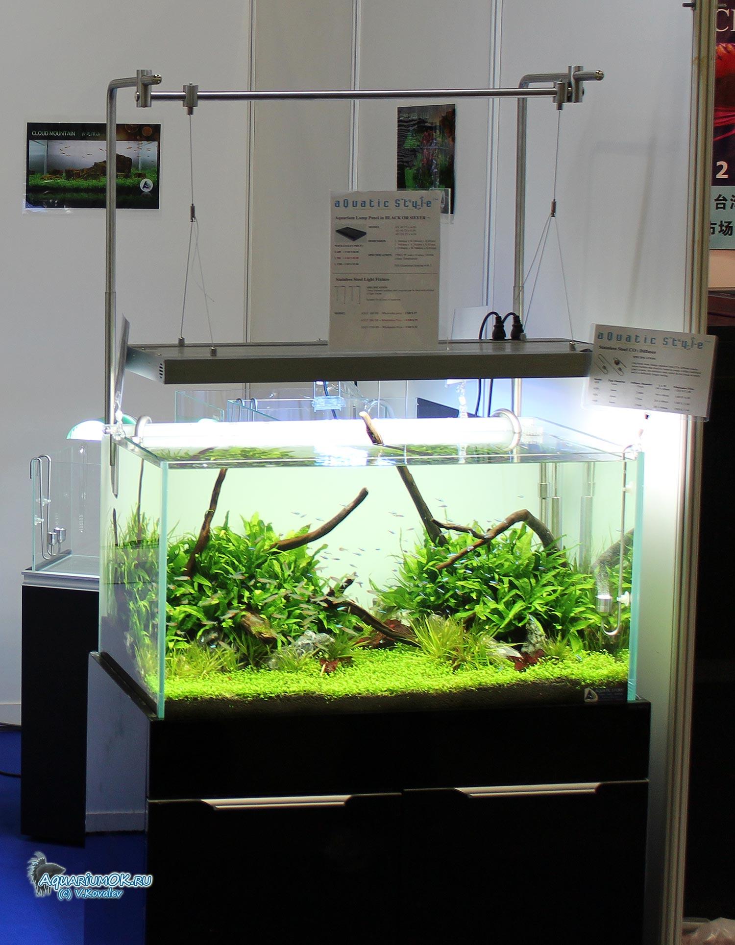 Светильники своими руками над аквариумом