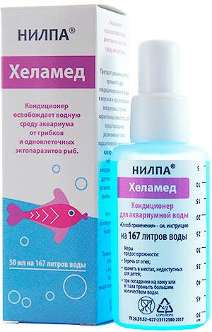 В каких случаях использовать НИЛПА ХЕЛАМЕД: описаны симптомы заболеваний аквариумных рыб